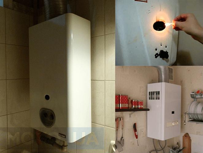 Інструкція як правильно включити газову колонку і користуватися нею