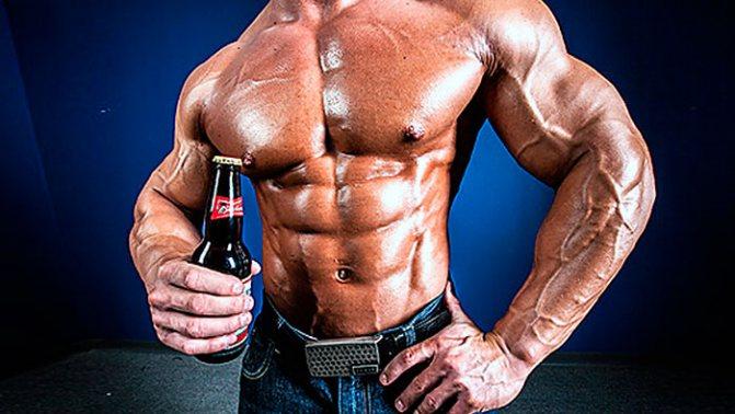 Алкоголь і спорт — можна алкоголь перед і після тренування?