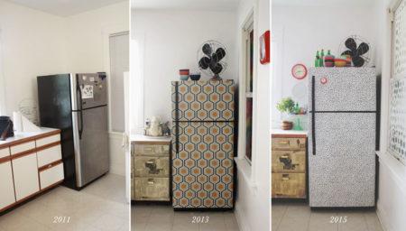 Як обклеїти холодильник самоклеющейся плівкою