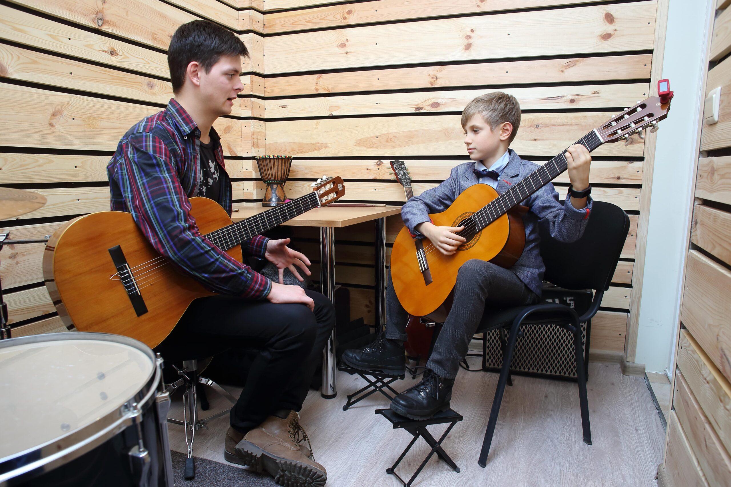 Развитие чувства ритма на гитаре
