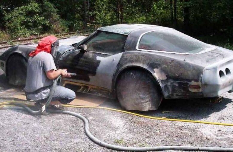 Як видалити фарбу з автомобіля своїми руками